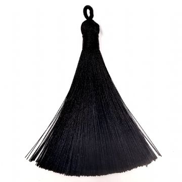 Large Black Tassel